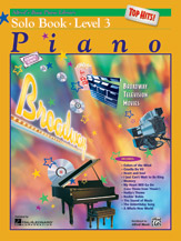 Alfred's Basic Piano Course Top Hits Solo Book Lv3
