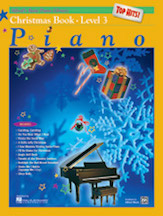 Alfred's Basic Piano Course Top Hits Christmas Level 3
