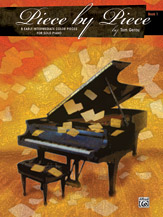 Piece by Piece - Book 1 - 8 Early Intermediate Color Pieces for Solo Piano