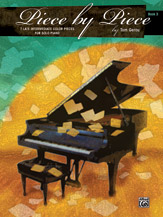 Piece by Piece - Book 3 - 7 Late Intermediate Color Pieces for Solo Piano