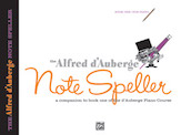 Alfred D'auberge Piano Course Notespeller Bk1