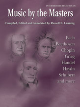 Music By The Masters Intermediate Piano Solos