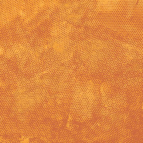 Andover Dimples A-1867-O15 Burnt Orange