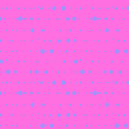 Sun Print 2015 Pink Blue Dots Ink Electric