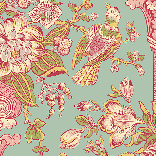 Fabric - Cloverdale House A-7965-T