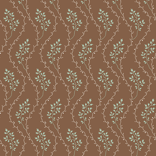 Cloverdale House Wavy Dot Floral by Di Ford-Hall for Andover Fabrics