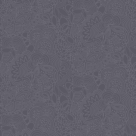 Remix (Seventy Six) Stitched Charcoal
