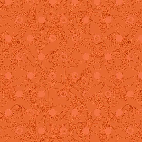 Sun Print Orange