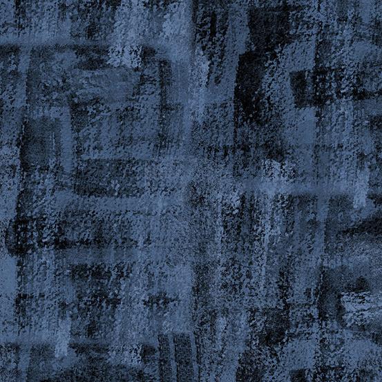 Andover Brushline Slate blue by Kim Schaffer