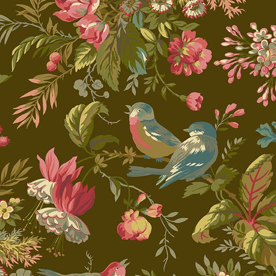 A 8750 K Sequoia by Edyta Sitar for Andover Fabrics. 100% cotton 43 wide