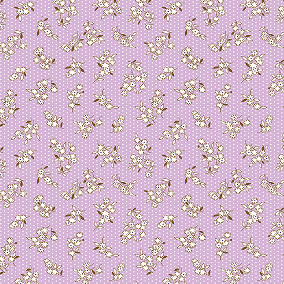 Lottie Ruth by Kathy Hall for Andover Fabrics A-8782-P