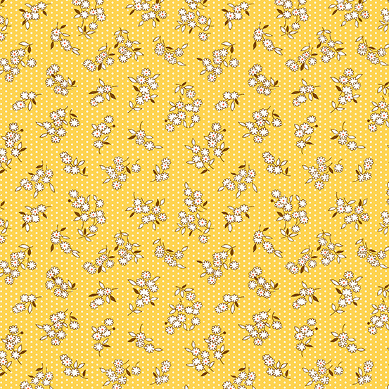 Lottie Ruth by Kathy Hall for Andover Fabrics A-8782-Y