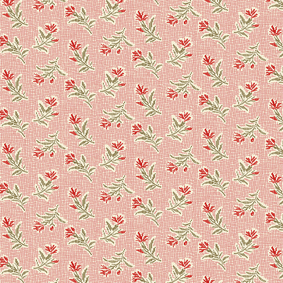 Andover - Little Sweetheart by Laundry Basket Quilts - Summer Field Blush