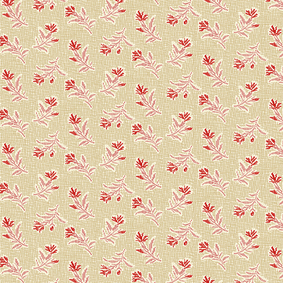 Andover - Little Sweetheart by Laundry Basket Quilts - Summer Field Shortbread