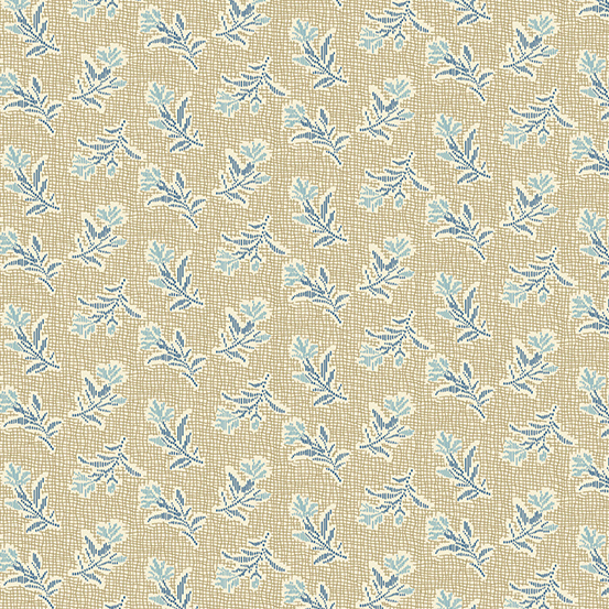 Andover - Something Blue by Laundry Basket Quilts A-8826-N