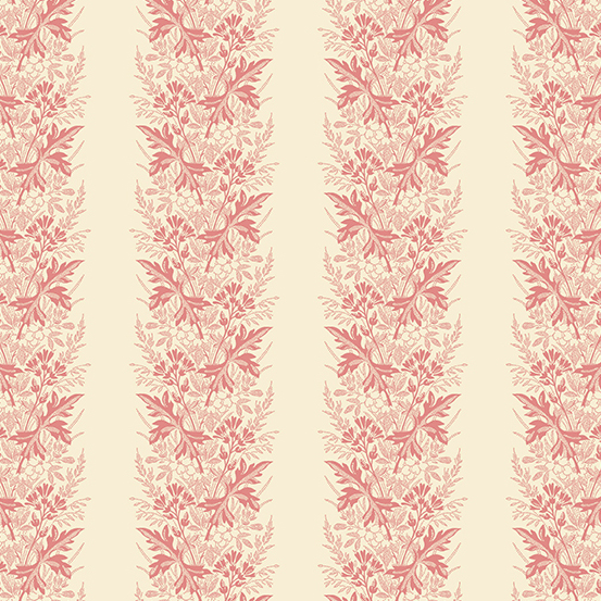 Andover - Little Sweetheart by Laundry Basket Quilts - Wreath  Blush