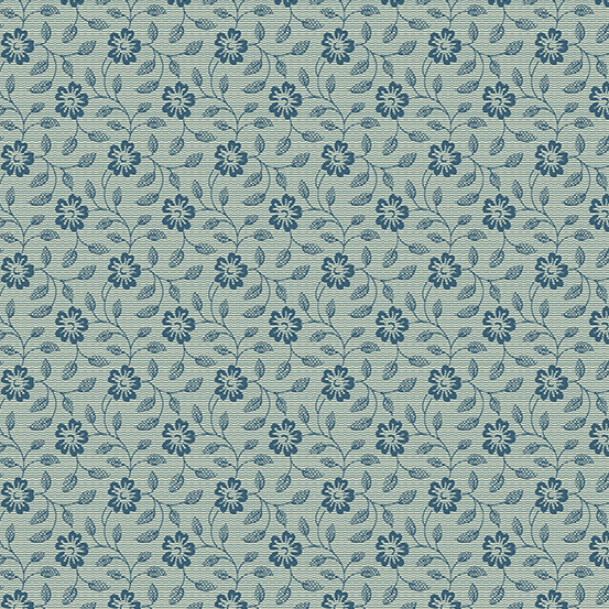 Andover - Something Blue by Laundry Basket Quilts A-8830-B
