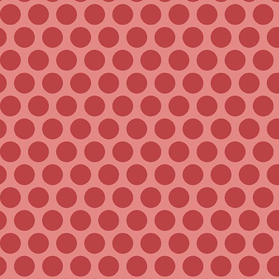 Anna A-8831-R1 Raspberry Spots