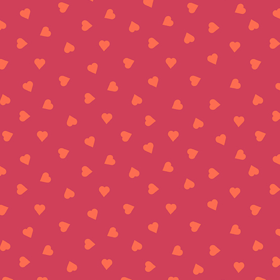 Mixtape - Hearts - Rhubarb - 1 Meter x WOF