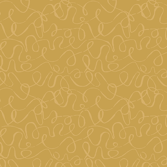 Scribbles A-8889-N5 GOLD