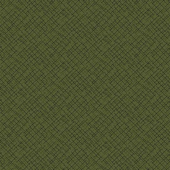 Andover 2020 Trinkets Weave Green A-9004-G by Kathy Hall