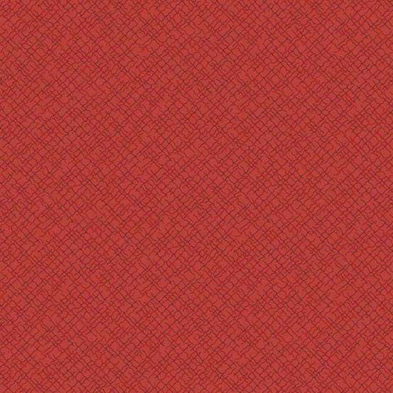 Andover 2020 Trinkets Weave Red A-9004-R by Kathy Hall
