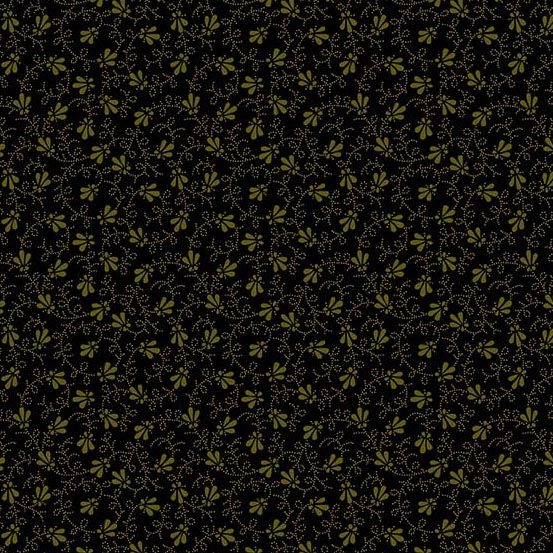 Andover 2020 Trinkets Dotty Vine Black A-9016-K by Kathy Hall