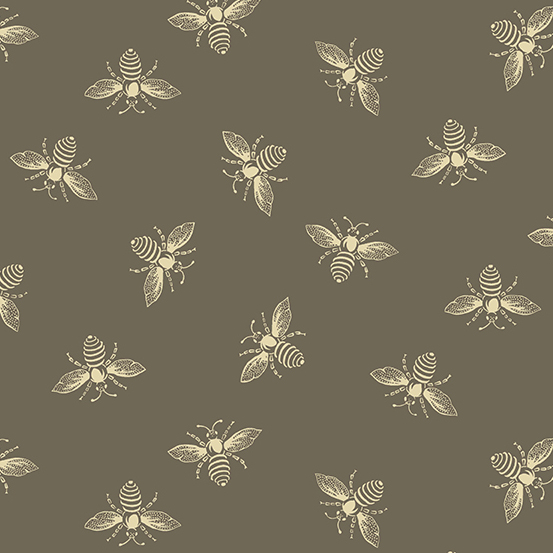 Beehive Bees taupe