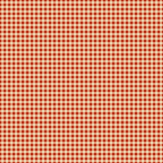 Riviera Rose A-9092-R Red Check