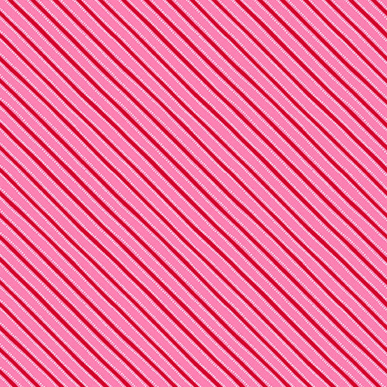 Northern Lights Red and Pink Stripes A-9098-E