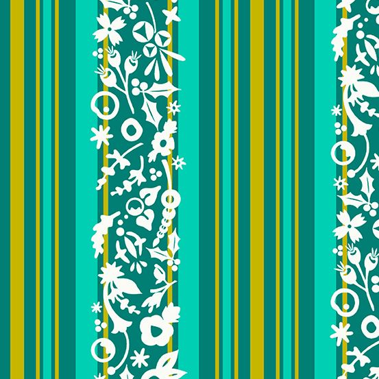 A 9118 T Holiday by Alison Glass for Andover Fabrics. 100% cotton 43 wide