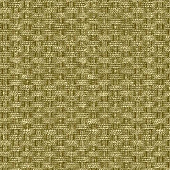Rough Hewn - Rope Basket-weave<br>A-9158-G Moss