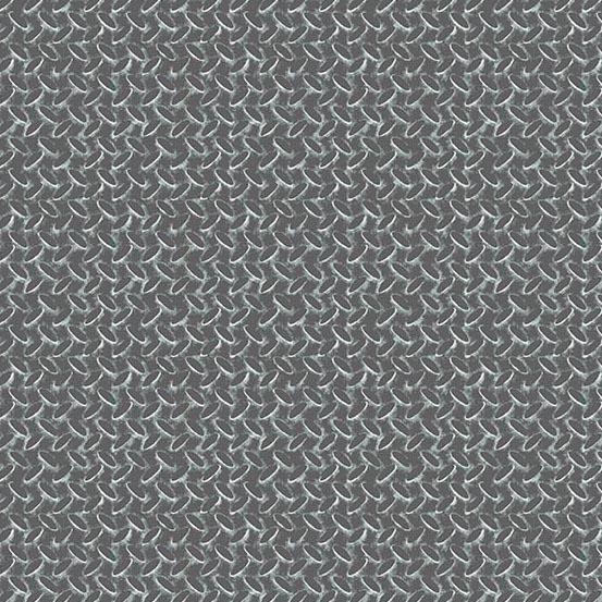 Rough Hewn - Diamond Plate<br>A-9159-C Grey