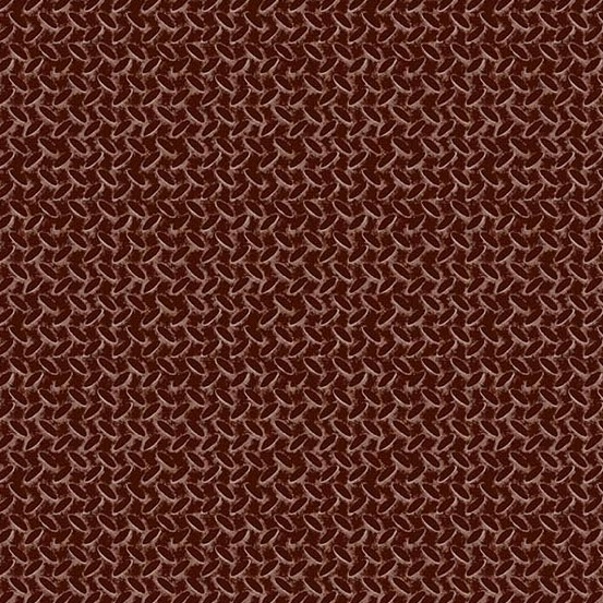 Rough Hewn - Diamond Plate<br>A-9159-N Mahogany