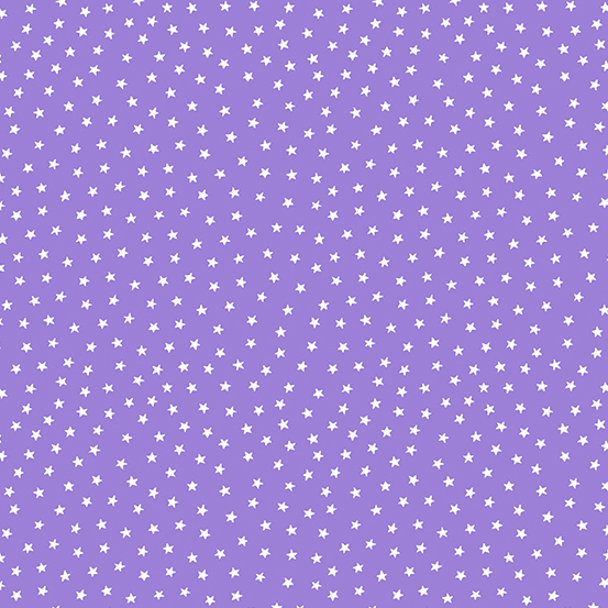 Star Bright Mauve Stars A-9166-P