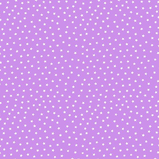 Star Bright Lilac Stars A-9166-P2