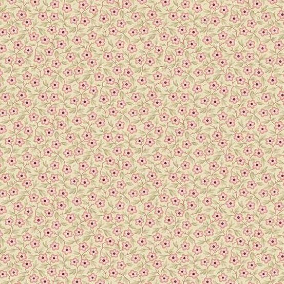 Braveheart -tan w/ pink flowers