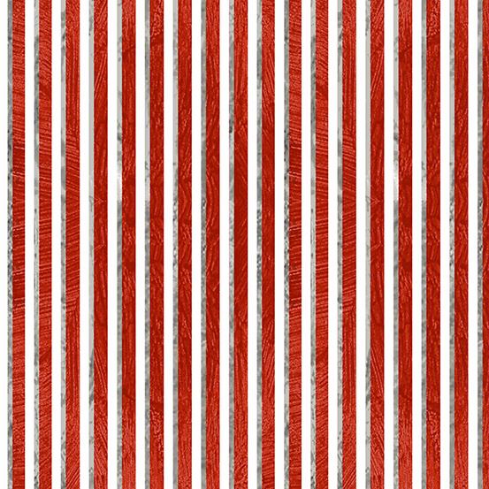 Andover Ruff Life A-9207-R Red Stripe