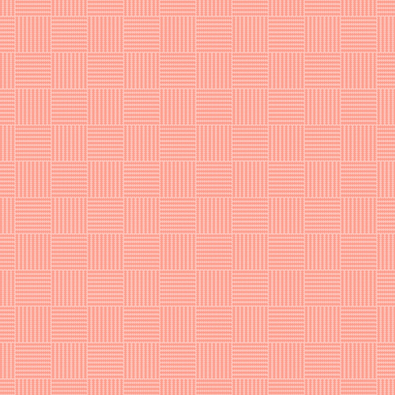 Roseberry Cottage A-9216-E Pink Grid