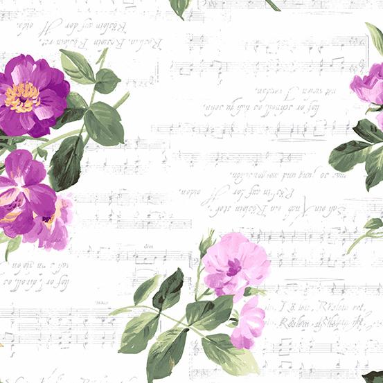 Andover Symphony A-9217-P Medium Floral