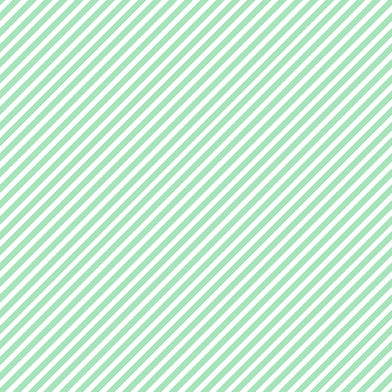 Sweet Shoppe Stripe in mint chip