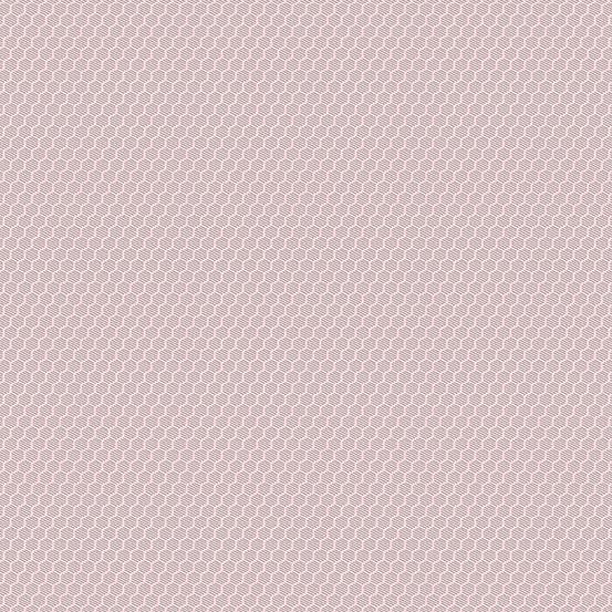 Andover Botanica Pink Hexies 2020 A-9265-E