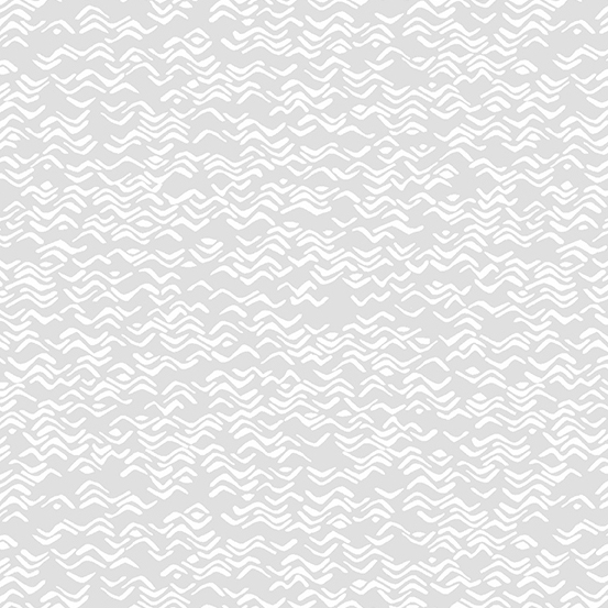 Andover Fabrics By the Sea Grey Waves A-9272-C