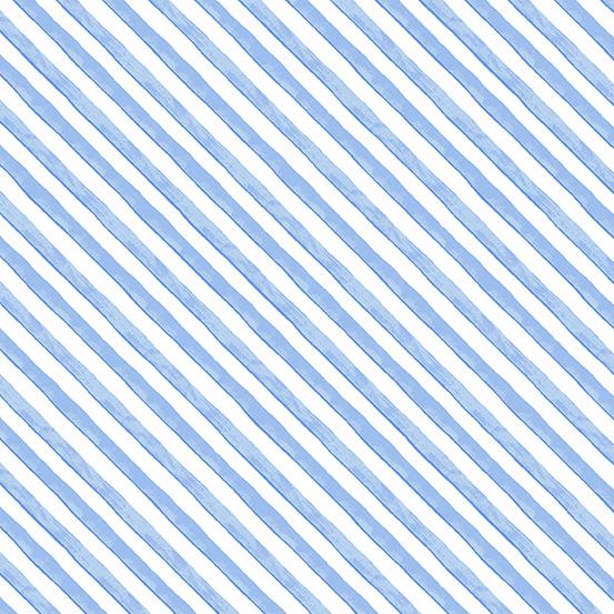 A-9346-B Meow Meadow Diagonal Strip Blue (20G)
