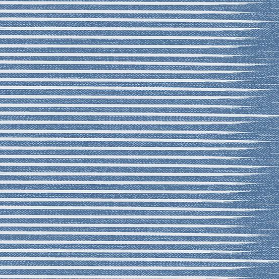 Almost Blue Vintage Stripe A-9349-BL