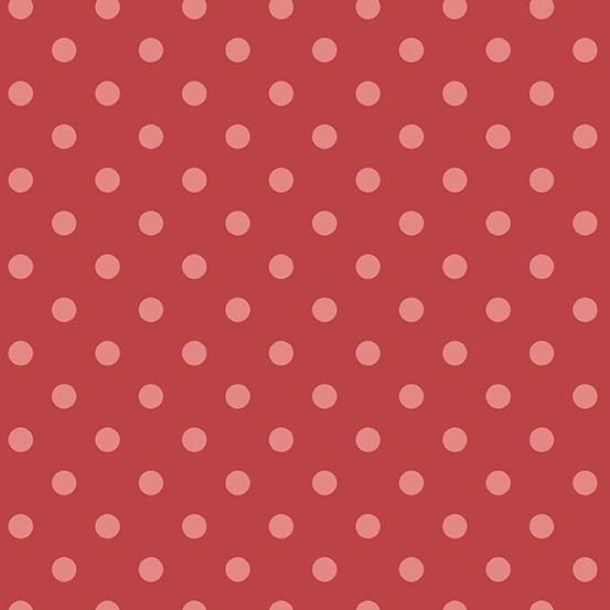 Anna A-9355-R Raspberry Pearls