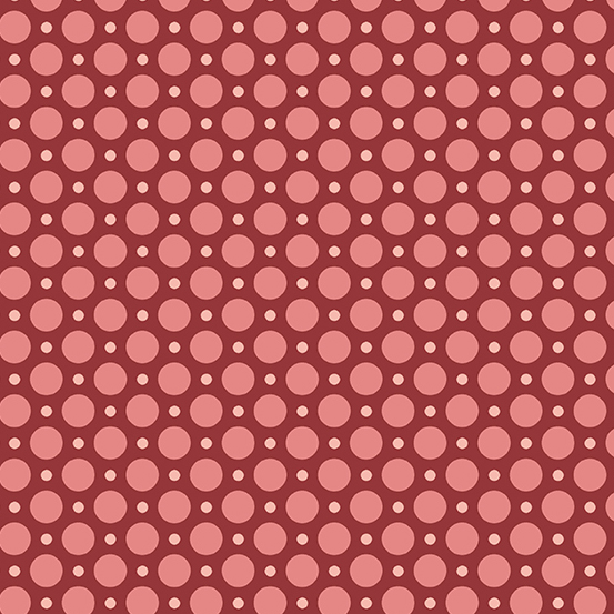Anna A-9356-R Raspberry Ladybug