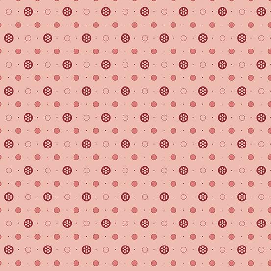 Anna A-9358-E Pink Buttons