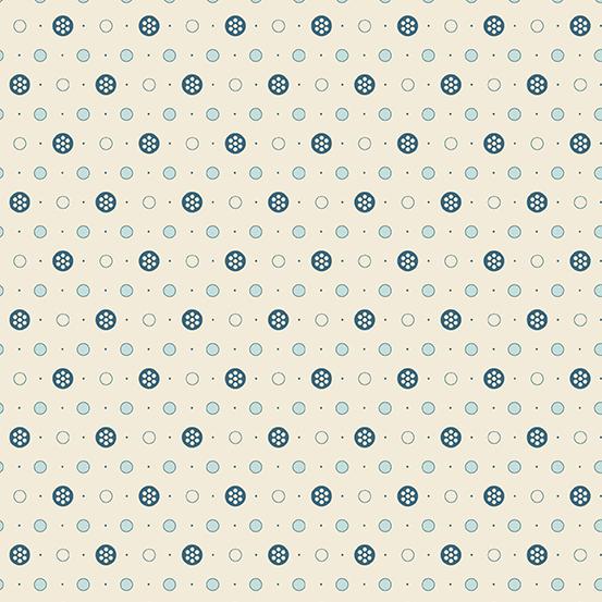 Andover Delfina A-9358-LB by Edyta Sitar of Laundry Basket Quilts