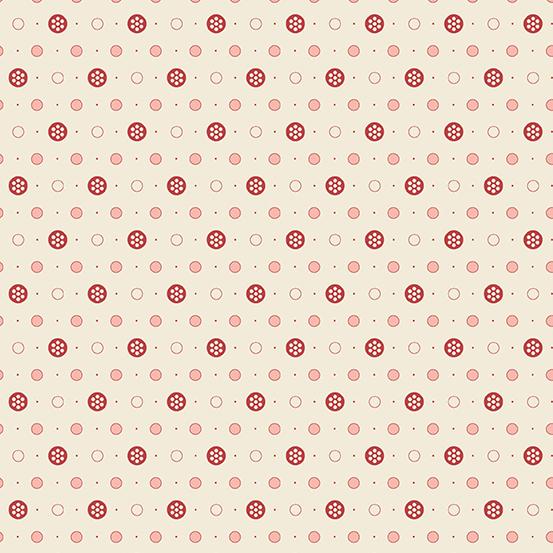 Anna A-9358-LE Cream Buttons